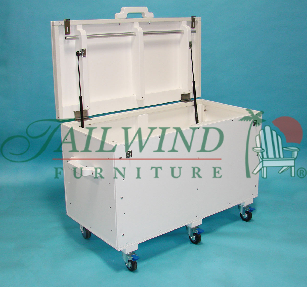 "Storage Box 4ft ST24-4 - 48""L x 24""W x 28½""H