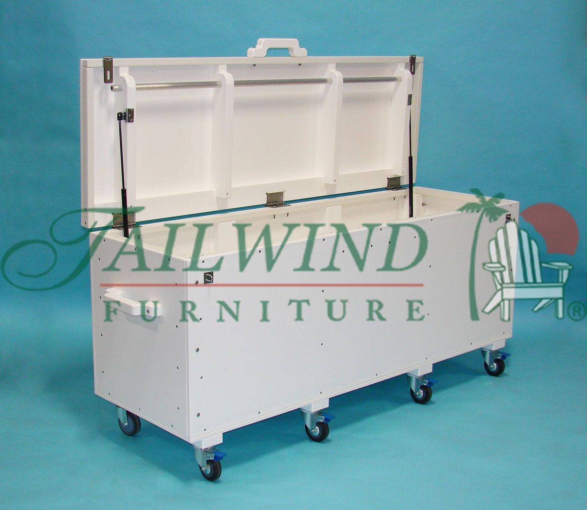 "Storage Box 6ft ST24-6 - 72""L x 24""W x 28½""H 
