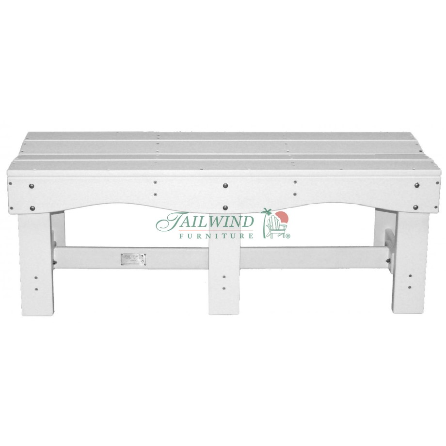"BB 470 47"" Backless Bench  - 47""L x 19""W x 17""H
