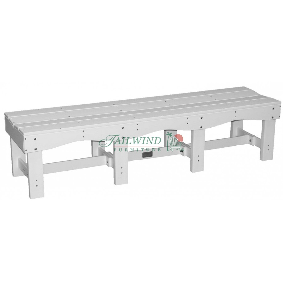 "BB 700 70"" Backless Bench  - 70""L x 19""W x 17""H