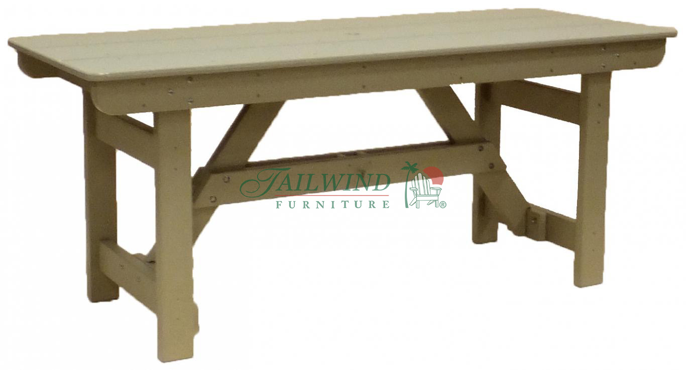 "DTR 715 Dining Table - 71.5"" Dining Table (rectangle)