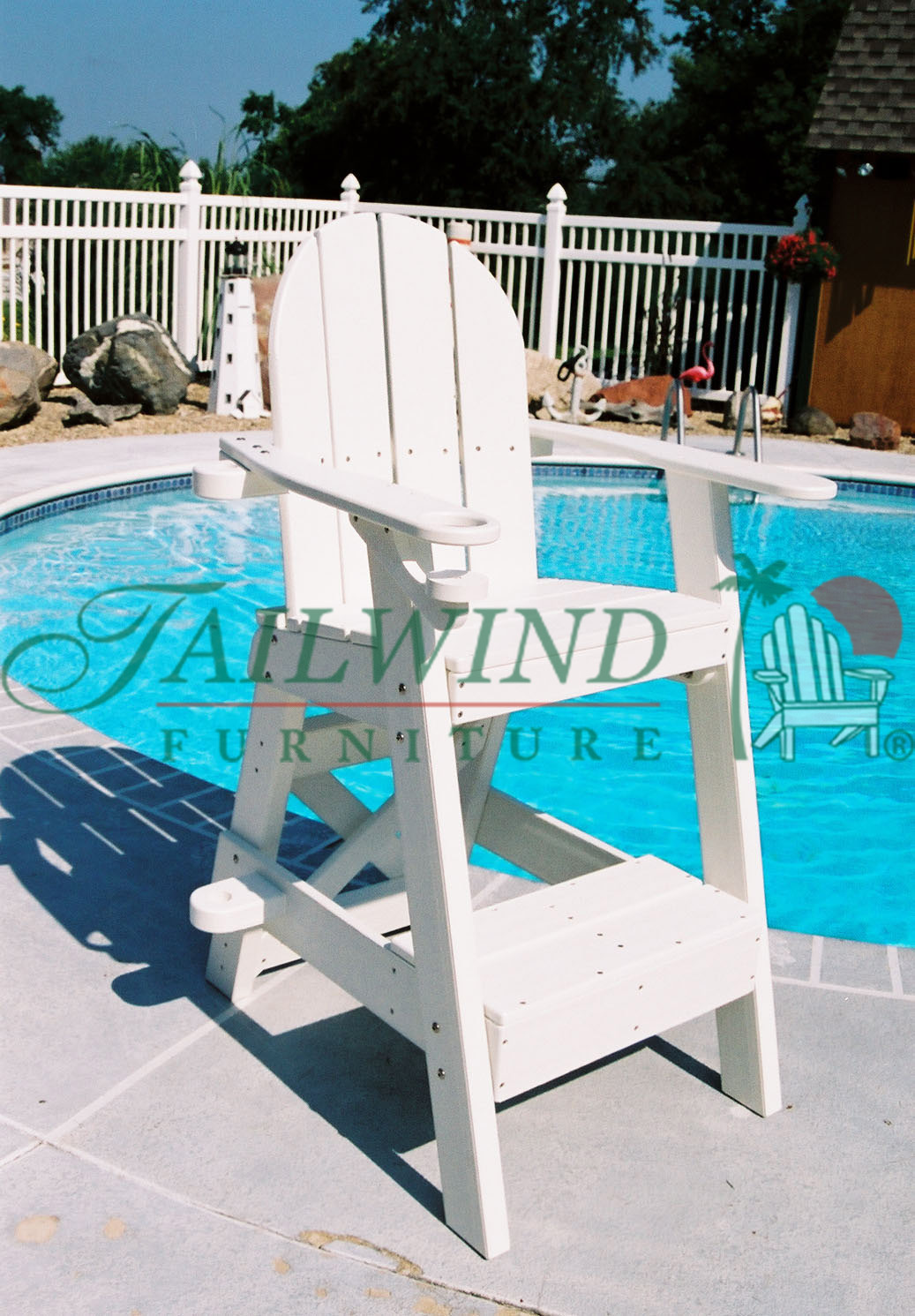 "LG 505 Lifeguard Chair - 33""L x 29""W x 51""H