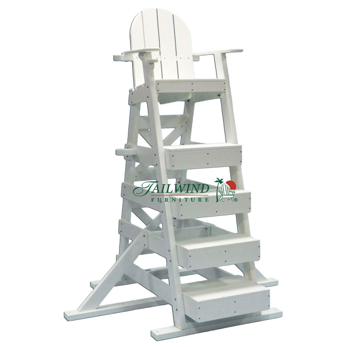 "LG 517 Lifeguard Chair - 49""L x 66""W x 82""H