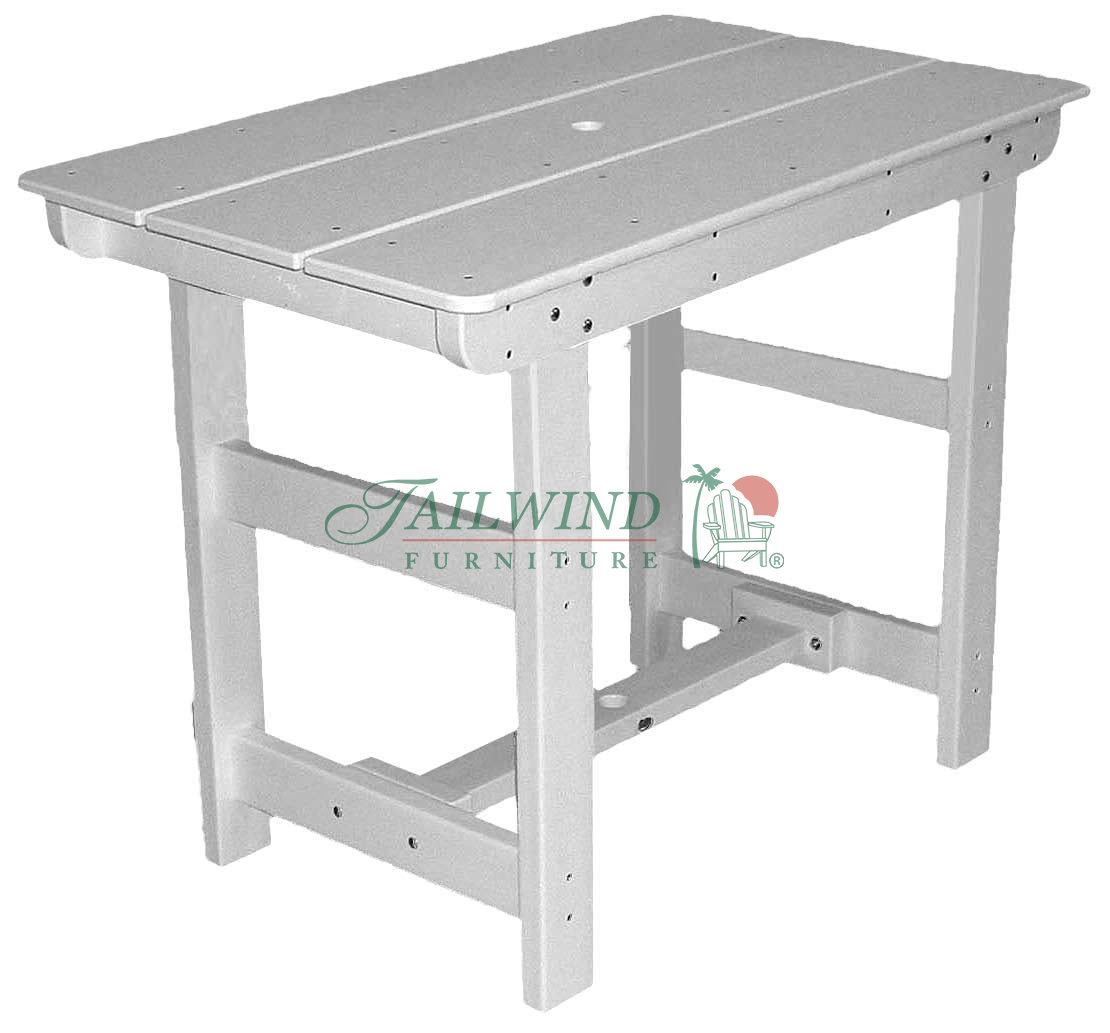 "PUB 400 Pub Table (rectangle) - 48""L x 29""W x 42""H