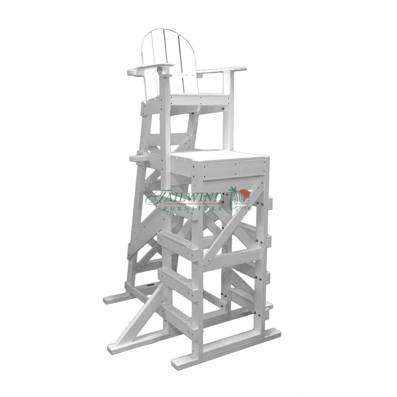 XTLG 540 Tall Lifeguard Chair (side step) - XTLG 540 Tall Lifeguard Chair (side step)