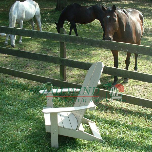 "AD 400 Round Back Adirondack Chair 36""L x 28""W x 43""H