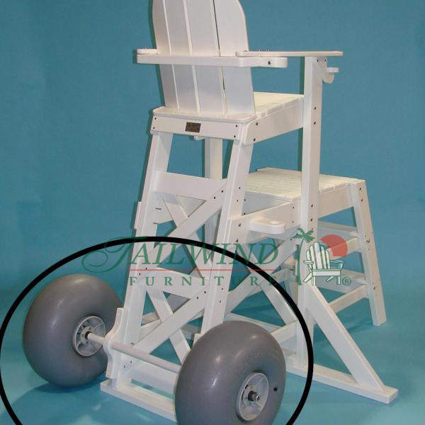 BCWH 563 Large Wheel Kit for all Tailwind Lifeguard Chairs