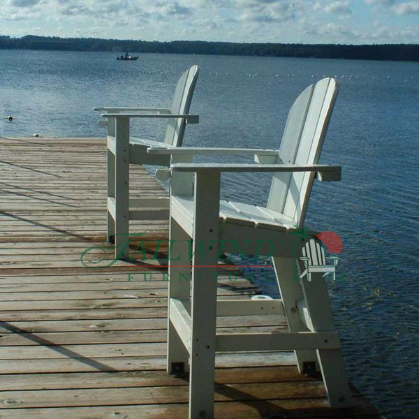 "LG 500 Lifeguard Chair 30""L x 29""W x 51""H