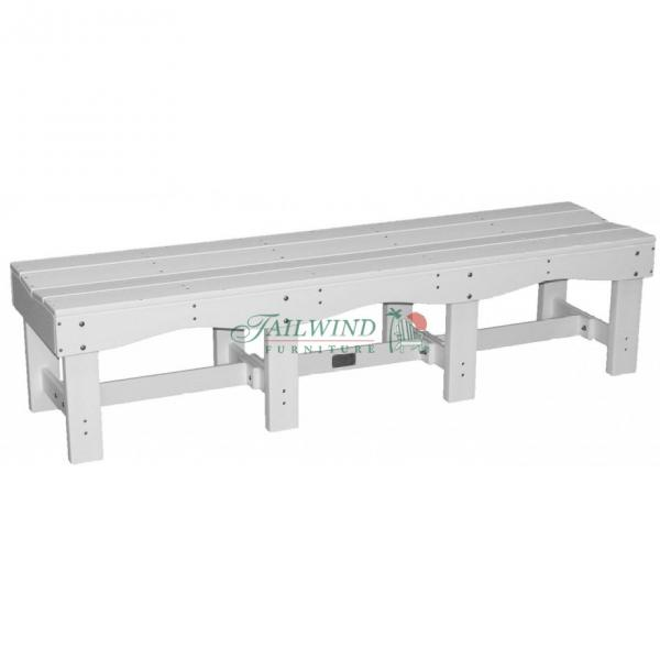 "BB 700 70"" Backless Bench  70""L x 19""W x 17""H