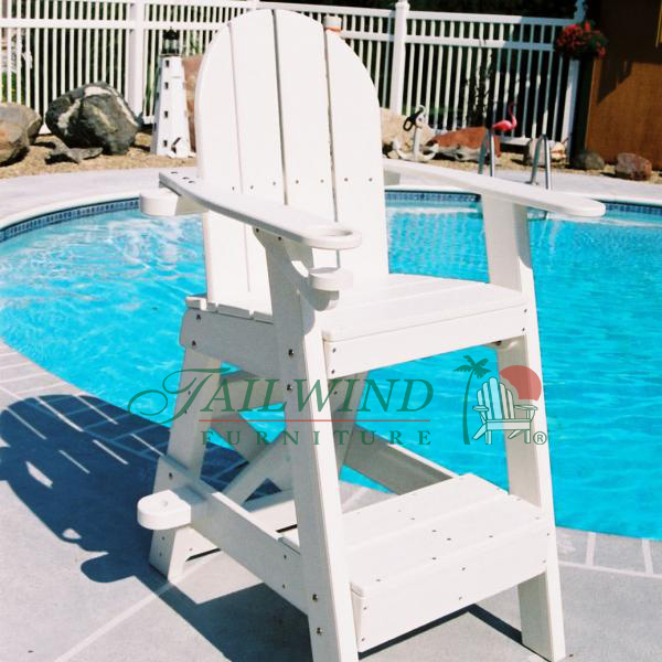 "LG 505 Lifeguard Chair 33""L x 29""W x 51""H