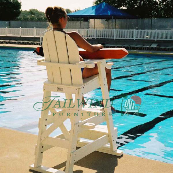 "LG 510 Lifeguard Chair  41""L x 30""W x 61""H