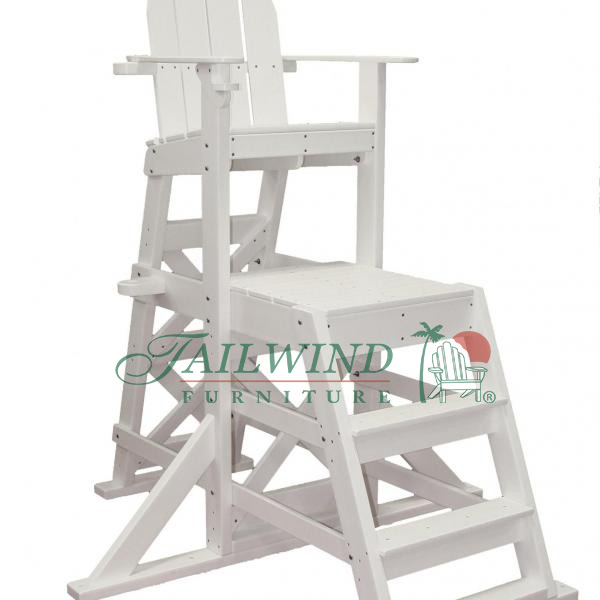 "MLG 525 Medium Lifeguard Chair (front ladder) 62""L x 59""W x 70""H