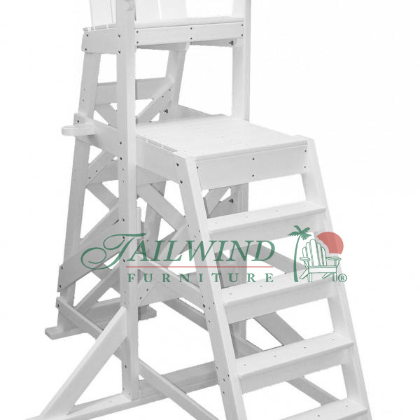 "TLG 535 Tall Lifeguard Chair (front ladder) 72""L x 59""W x 85""H