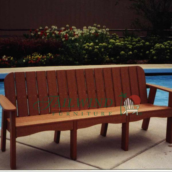 "VB 720 76"" Victorian Bench (seats four) 76""L x 27""W x 34""H