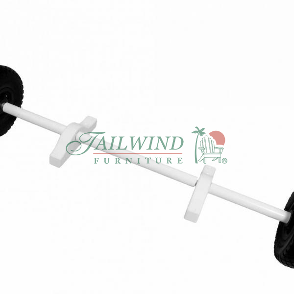 HSWH 565 Hard Surface Wheel Kit for all Tailwind Lifeguard Chairs