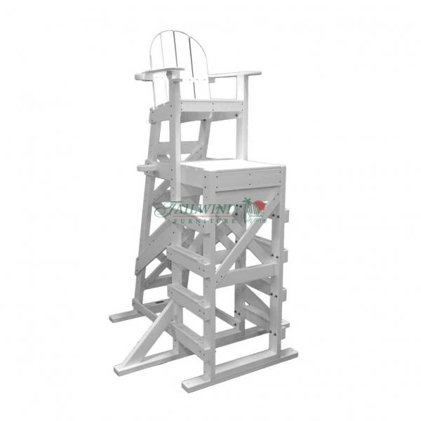 XTLG 540 Tall Lifeguard Chair (side step)